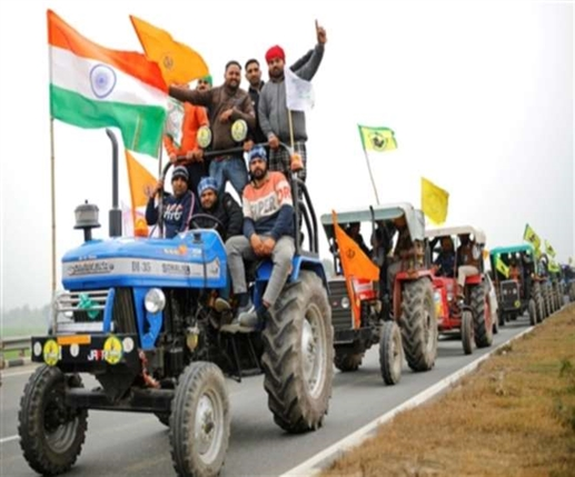 High alert in Delhi Farmers to get out on tractors after Republic Day parade