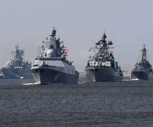 Russia threatens to blow up British navy escalates tensions over navy firing