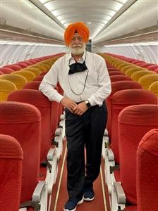 UAE flights SP Oberoi to Dubai all alone in Air India plane