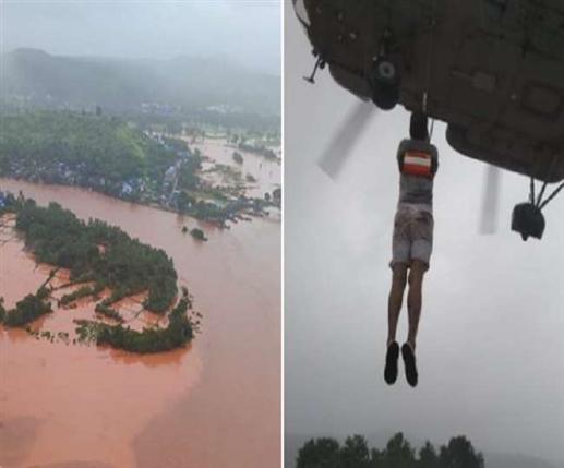 Heavy rains in Maharashtra Rains lash Maharashtra 129 killed many still feared buried in rubble
