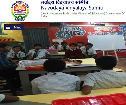 Schedule for admission in Navodaya Vidyalaya released apply by 15 december writter paper on 10 April