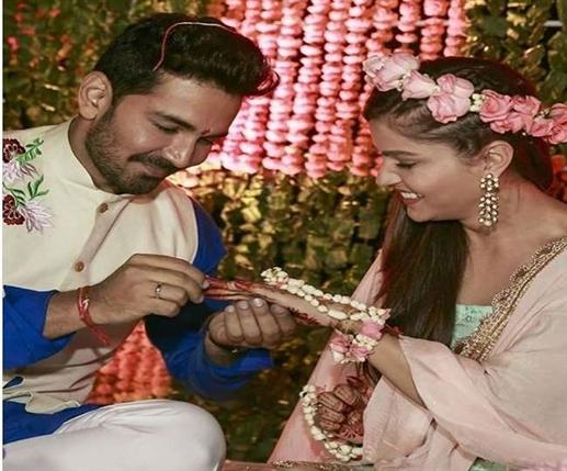 Abhinav Shukla was fascinated to see Rubina Dilek in a saree read Romantic Love Story