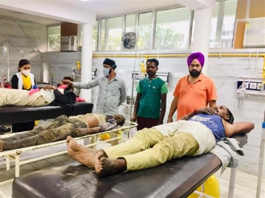 one die and three injured with highvoltage short