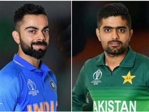 LIVE India vs Pakistan: ਸ਼ਾਮ 7 ਵਜੇ ਸ਼ੁਰੂ ਹੋਵੇਗਾ ਮਹਾਮੁਕਾਬਲਾ, ਵਿਰਾਟ ਕੋਹਲੀ - ਬਾਬਰ ਆਜ਼ਮ ਨੇ ਟੀਮਾਂ ਨੂੰ ਦਿੱਤੀ ਹੱਲਾਸ਼ੇਰੀ