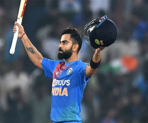 Virat nominated for ICC Player of the Decade award