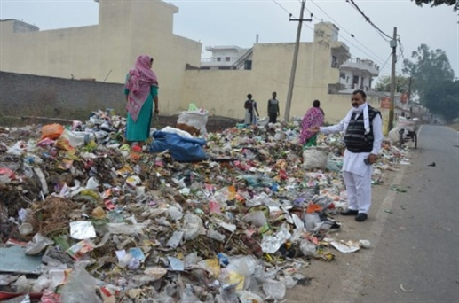 clear garbage dump else we will protest