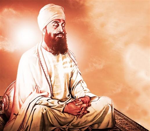 the messenger of hatred and renunciation Guru Tegh Bahadur Ji