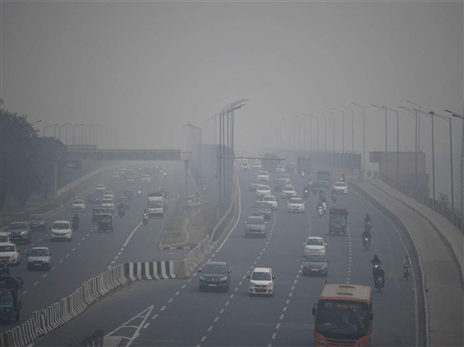 The air in Delhi NCR is very bad again