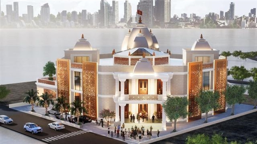 Dubai huge temple will be ready next year
