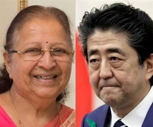 former prime minister of japan shinzo abe singer sp balasubramaniam awarded padma vibhushan