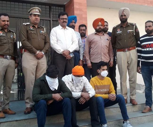 Three historians arrested in Punjab police search in several cases heroin and pistol recovered