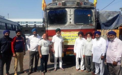 Farmer Group Goes Delhi