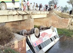 Road Accident : ਫ਼ਰੀਦਕੋਟ ਤੋਂ ਫਿਰੋਜ਼ਪੁਰ ਨੂੰ ਆ ਰਹੀ ਪੰਜਾਬ ਰੋਡਵੇਜ਼ ਦੀ ਬੱਸ ਸੇਮ ਨਾਲੇ ਚ ਡਿੱਗੀ, ਕਈ ਸਵਾਰੀਆਂ ਨੂੰ ਲੱਗੀਆਂ ਸੱਟਾਂ