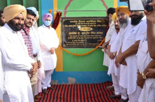 Kangar laid the foundation stone of the 25 lakh pipeline