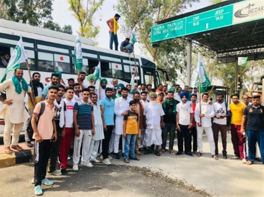 farmers protest against agriculther laws