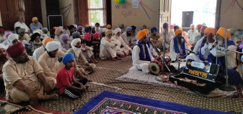 Celebrated the Parkash Day of Guru Hargobind Sahib Ji