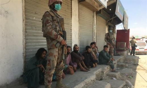 Insurgent attack in Balochistan kills five Pakistani soldiers injures eight