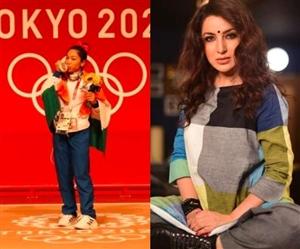 Tokyo Olympics 2020: ਮੀਰਾਬਾਈ ਚਾਨੂ ਦੀ ਜਿੱਤ ਦੀ ਵਧਾਈ ਦਿੰਦੇ ਟਿਸਕਾ ਚੋਪਡ਼ਾ ਤੋਂ ਹੋਈ ਇਹ ਵੱਡੀ ਗਲਤੀ, ਮੰਗਣੀ ਪਈ ਮੁਆਫੀ