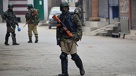 Violence during voting in occupied Kashmir two killed