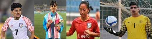 These Punjab players got the honor of Best Male and Female Football Players