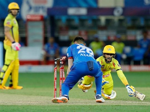 Chennai loses second match in a row in IPL 2020 Dhoni dhurandhar did not go against Delhi