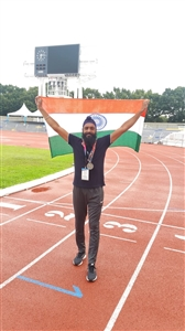 Athlete Gurdeep Singh making golden history