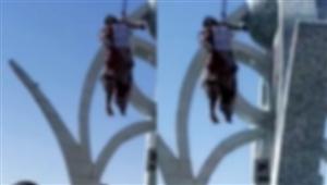 ਤਾਲਿਬਾਨ ਦੀ ਕਰੂਰ ਹਰਕਤ, ਲਾਸ਼ ਨੂੰ ਕਰੇਨ ਨਾਲ ਚੌਰਾਹੇ 'ਤੇ ਟੰਗਿਆ