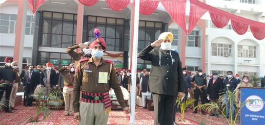 It happened for the first time on the occasion of the 72nd Republic Day in Barnala