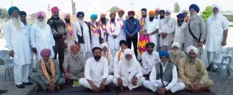 meeting of farmers
