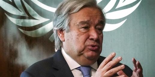 Guterres welcomes India Pakistan ceasefire