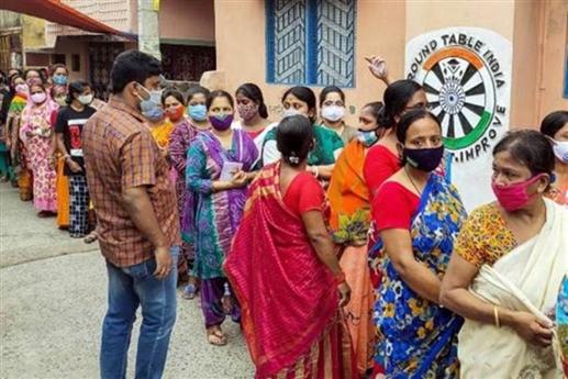 West Bengal Assembly Election 2021 : ਕੋਰੋਨਾ ਦੌਰਾਨ ਸੱਤਵੇਂ ਗੇੜ 'ਚ ਜ਼ਬਰਦਸਤ ਵੋਟਿੰਗ