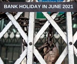 Bank Holiday in June 2021 : ਬੈਂਕ ਗਾਹਕਾਂ ਲਈ ਚੰਗੀ ਖ਼ਬਰ, June 'ਚ ਆਸਾਨੀ ਨਾਲ ਨਿਪਟਾ ਸਕੋਗੇ ਕੰਮਕਾਜ- ਜਾਣੋ ਕਾਰਨ