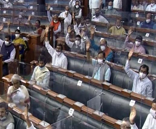 Parliament Monsoon Session Updates : ਲੋਕ ਸਭਾ 'ਚ ਦੋ ਬਿੱਲ ਪਾਸ ਹੋਏ, ਮੰਗਲਵਾਰ 11 ਵਜੇ ਤਕ ਕਾਰਵਾਈ ਮੁਲਤਵੀ