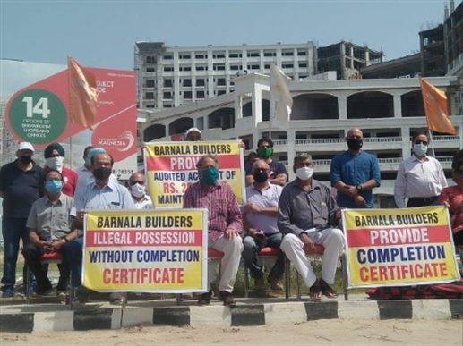 zirakpur protest