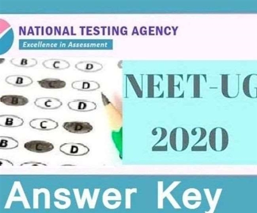 neet ug 2020 answer key national testing agency released neet 2020 answer key download at ntaneet nic in