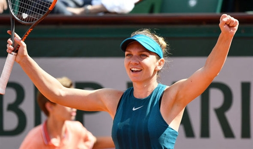 Simona Halep prepares for French Open