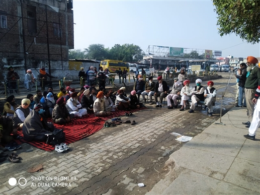 PRTC workers jammed Chakka protest in bus stand