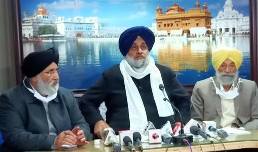 Sukhbir Singh Badal comments on Delhi Chalo