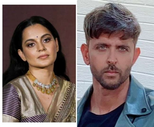 Hrithik Roshan Reached Crime Branch Office Record His Statement Against Kangana Ranaut