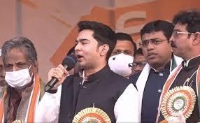 West Bengal Elections 2021 : ਭਾਜਪਾ 'ਤੇ ਵਰ੍ਹੇ ਮੁੱਖ ਮੰਤਰੀ ਮਮਤਾ ਬੈਨਰਜੀ ਦੇ ਭਤੀਜੇ ਅਭਿਸ਼ੇਕ ਬੈਨਰਜੀ
