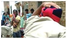 ਨਾਜਾਇਜ਼ ਸ਼ਰਾਬ ਦੇ ਸ਼ੱਕ 'ਚ ਛਾਪੇਮਾਰੀ ਕਰਨ ਪੁੱਜੀ ਪੁਲਿਸ 'ਤੇ ਹਮਲਾ