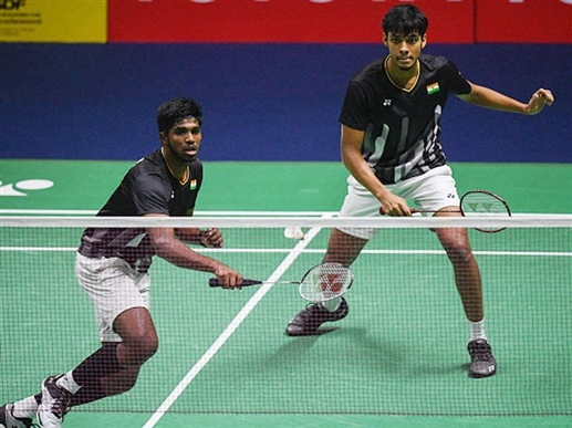 Satvik and Chirag out of knockout despite victory