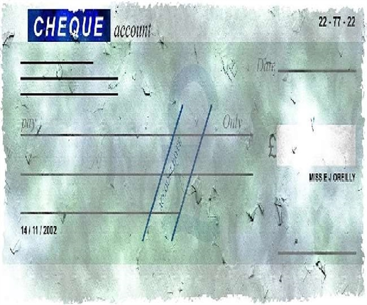 rules will be changed from next year on payment of cheque