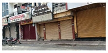 ਭਾਰਤ ਬੰਦ ਦੇ ਸੱਦੇ ਨੂੰ ਬਠਿੰਡਾ ਜ਼ਿਲ੍ਹਾ ਰਿਹਾ ਮੁਕੰਮਲ ਬੰਦ, ਸੜਕਾਂ 'ਤੇ ਸੁੰਨ ਪਸਰੀ