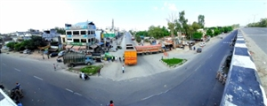 'ਭਾਰਤ ਬੰਦ' ਨੂੰ ਜ਼ਿਲ੍ਹੇ 'ਚ ਭਰਵਾਂ ਹੁੰਗਾਰਾ, ਰੇਲ ਤੇ ਸੜਕੀ ਆਵਾਜਾਈ ਰਹੀ ਠੱਪ