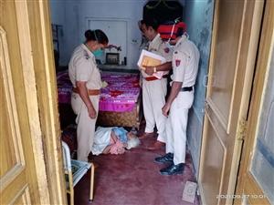 Murder in Jalandhar : ਜਲੰਧਰ ਦੇ ਸੰਤ ਵਿਹਾਰ 'ਚ ਬਜ਼ੁਰਗ ਔਰਤ ਦੀ ਬੇਰਹਿਮੀ ਨਾਲ ਹੱਤਿਆ, ਘਰ 'ਚ ਜ਼ਮੀਨ 'ਤੇ ਪਈ ਮਿਲੀ ਲਾਸ਼