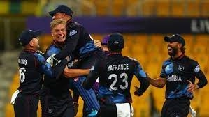 SCO vs NAM T20 WC 2021 Namibias strong win Beat Scotland by 4 wickets