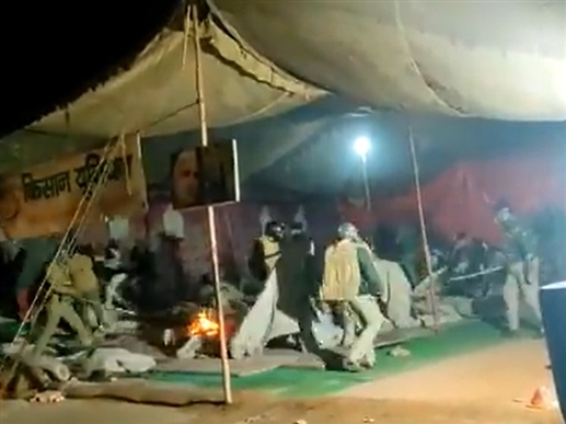 farmers protest and violence live update baghpat farmers protest delhi police kisan protest