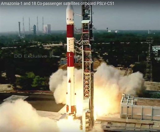 ISRO create history again launch his first space mission of this year