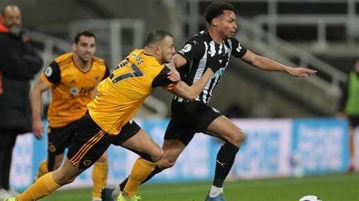 Wolves stop Newcastle in draw in English Premier League